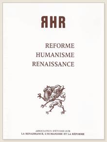 revue RHR - couverture